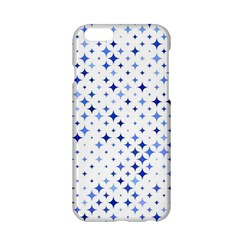 Star Curved Background Blue Apple Iphone 6/6s Hardshell Case