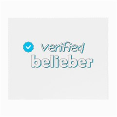Verified Belieber Small Glasses Cloth (2 Side)