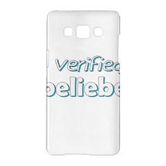 Verified Belieber Samsung Galaxy A5 Hardshell Case