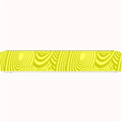 Yellow Oval Ellipse Egg Elliptical Small Bar Mats