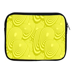 Yellow Oval Ellipse Egg Elliptical Apple Ipad 2/3/4 Zipper Cases