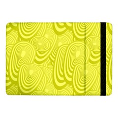 Yellow Oval Ellipse Egg Elliptical Samsung Galaxy Tab Pro 10 1  Flip Case