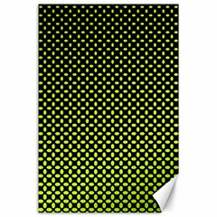 Pattern Halftone Background Dot Canvas 24  X 36