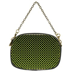 Pattern Halftone Background Dot Chain Purses (one Side)