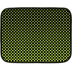 Pattern Halftone Background Dot Double Sided Fleece Blanket (mini)