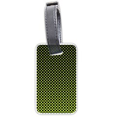 Pattern Halftone Background Dot Luggage Tags (one Side)