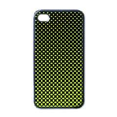 Pattern Halftone Background Dot Apple Iphone 4 Case (black)
