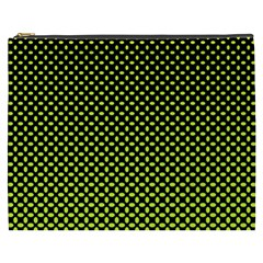 Pattern Halftone Background Dot Cosmetic Bag (xxxl)