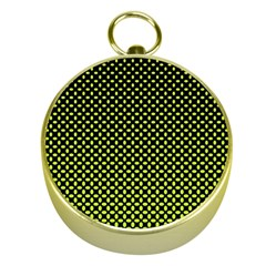 Pattern Halftone Background Dot Gold Compasses