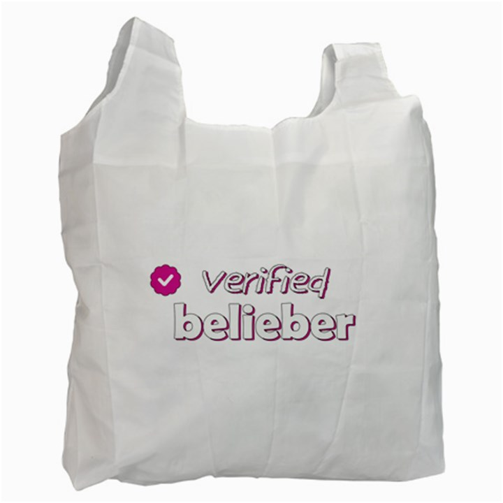 Verified Belieber Recycle Bag (Two Side)