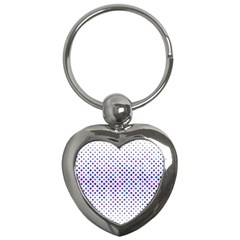 Star Curved Background Geometric Key Chains (heart)
