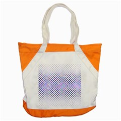 Star Curved Background Geometric Accent Tote Bag