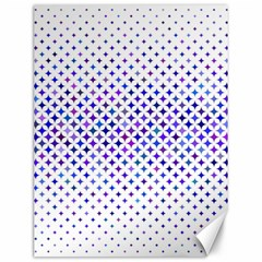 Star Curved Background Geometric Canvas 12  X 16