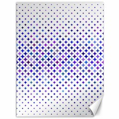 Star Curved Background Geometric Canvas 36  X 48