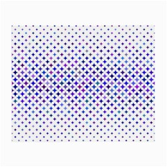 Star Curved Background Geometric Small Glasses Cloth (2 Side)