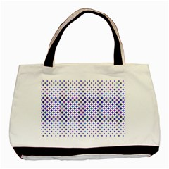 Star Curved Background Geometric Basic Tote Bag (two Sides)