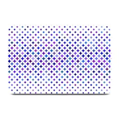 Star Curved Background Geometric Plate Mats