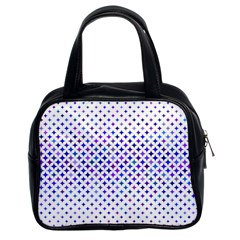 Star Curved Background Geometric Classic Handbags (2 Sides)