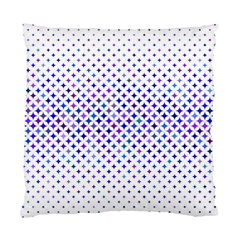 Star Curved Background Geometric Standard Cushion Case (two Sides)