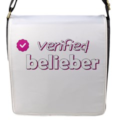 Verified Belieber Flap Messenger Bag (s)