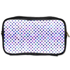 Star Curved Background Geometric Toiletries Bags