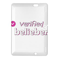 Verified Belieber Kindle Fire Hdx 8 9  Hardshell Case
