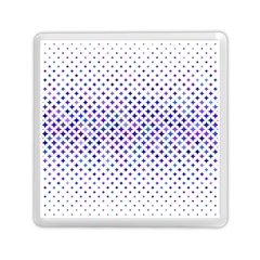 Star Curved Background Geometric Memory Card Reader (square)