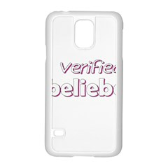 Verified Belieber Samsung Galaxy S5 Case (white)
