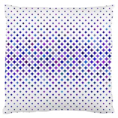 Star Curved Background Geometric Large Cushion Case (one Side)