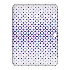 Star Curved Background Geometric Samsung Galaxy Tab 4 (10 1 ) Hardshell Case