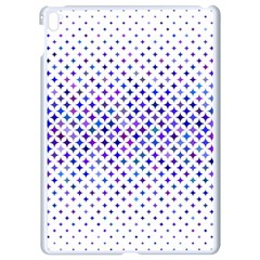 Star Curved Background Geometric Apple Ipad Pro 9 7   White Seamless Case