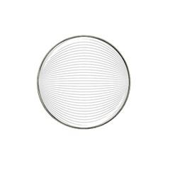 Pattern Background Monochrome Hat Clip Ball Marker