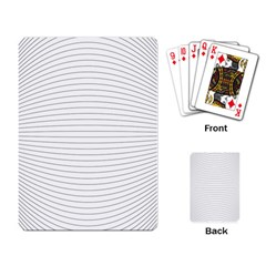 Pattern Background Monochrome Playing Card