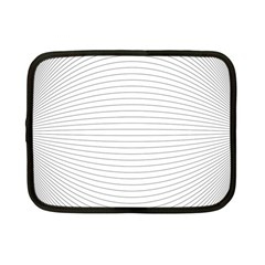 Pattern Background Monochrome Netbook Case (small)