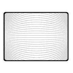 Pattern Background Monochrome Fleece Blanket (small)