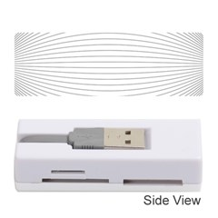 Pattern Background Monochrome Memory Card Reader (stick)