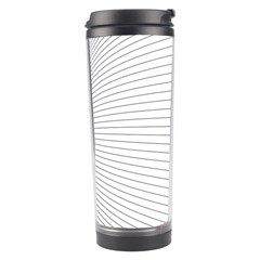 Pattern Background Monochrome Travel Tumbler