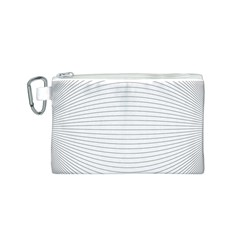 Pattern Background Monochrome Canvas Cosmetic Bag (s)