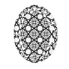 Line Stripe Curves Curved Seamless Oval Filigree Ornament (two Sides)