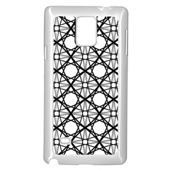 Line Stripe Curves Curved Seamless Samsung Galaxy Note 4 Case (white)