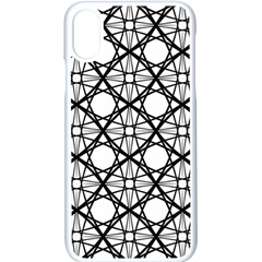 Line Stripe Curves Curved Seamless Apple Iphone X Seamless Case (white)