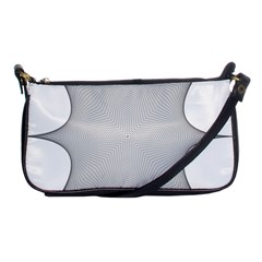 Star Grid Curved Curved Star Woven Shoulder Clutch Bags