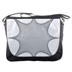 Star Grid Curved Curved Star Woven Messenger Bags