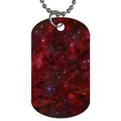 Abstract Fantasy Color Colorful Dog Tag (one Side)