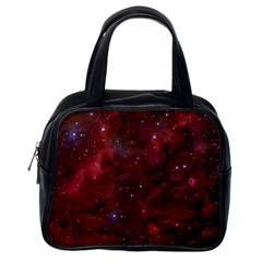 Abstract Fantasy Color Colorful Classic Handbags (one Side)