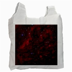 Abstract Fantasy Color Colorful Recycle Bag (one Side)