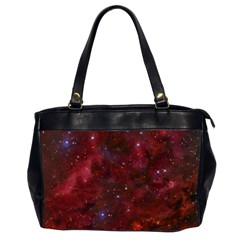 Abstract Fantasy Color Colorful Office Handbags (2 Sides)