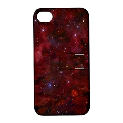 Abstract Fantasy Color Colorful Apple Iphone 4/4s Hardshell Case With Stand