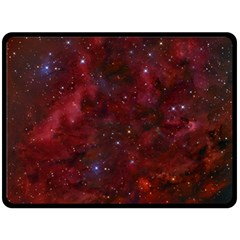 Abstract Fantasy Color Colorful Double Sided Fleece Blanket (large)