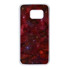 Abstract Fantasy Color Colorful Samsung Galaxy S7 White Seamless Case